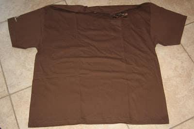 Turning a t-shirt into pajama shorts