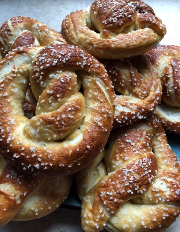 These delicious soft pretzels are a snap to make, and so much tastier than the ones at the mall. Take a bite of a homemade pretzel, fresh out of the oven, and you'll never go back.