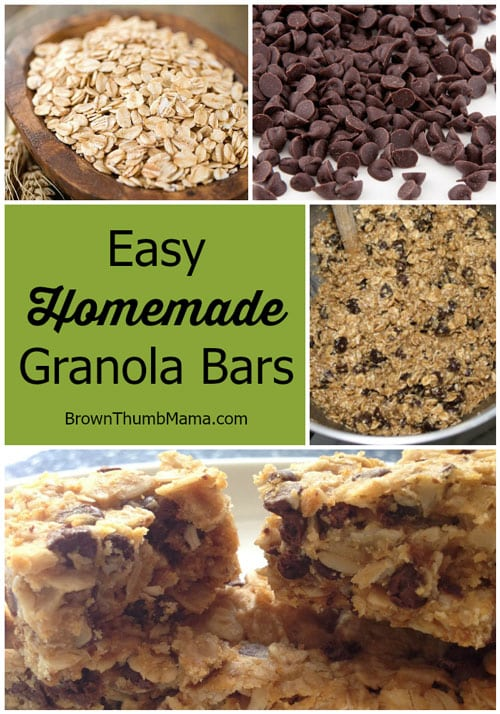 My kids LOVE these natural, healthy granola bars. And they only have 7 ingredients (Quaker chewy has more than 28)! They're a great homemade breakfast on-the-go or healthy snack after school, soccer, baseball, etc.