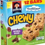 My kids LOVE these natural, healthy granola bars. And they only have 7 ingredients (Quaker Chewy has 28+). Ditch the mystery ingredients and go natural!