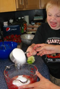 7 Secrets to Get Your Kids to Help in the Kitchen: BrownThumbMama.com