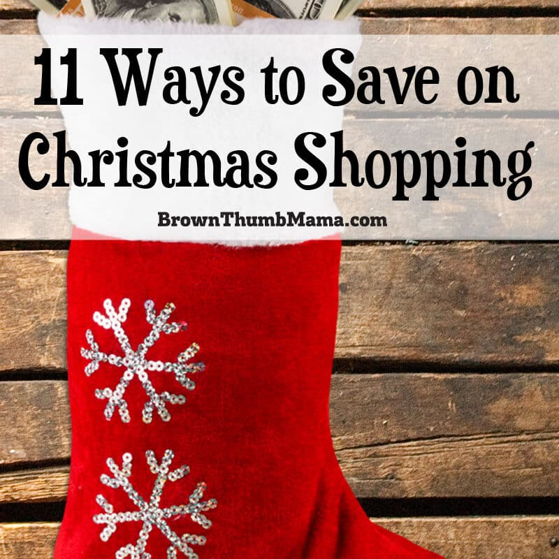 11 Ways to Save on Christmas Shopping