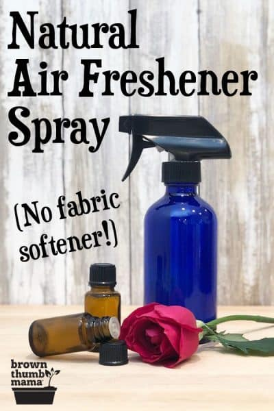 Homemade Natural Febreze | Brown Thumb