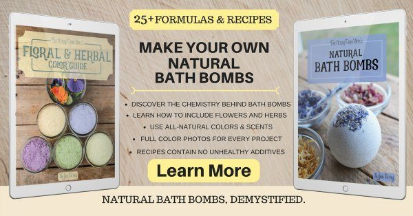 Natural bath bomb tutorial