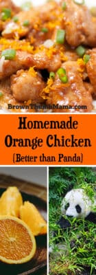 Faster and tastier than takeout--this delicious copycat orange chicken recipe is ready in minutes and is better than Panda Express!