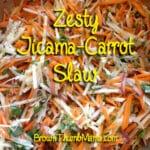 Zesty Jicama-Carrot Slaw