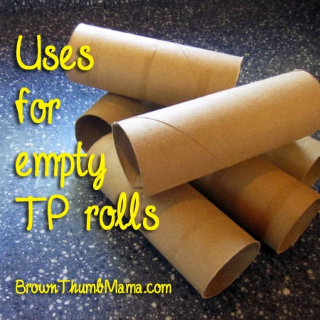 Uses for Empty TP Rolls
