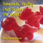 Homemade, Healthy Fruit Snacks (for wimps)