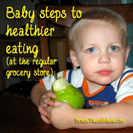 Baby Steps to Healthy Eating (at the regular grocery store)