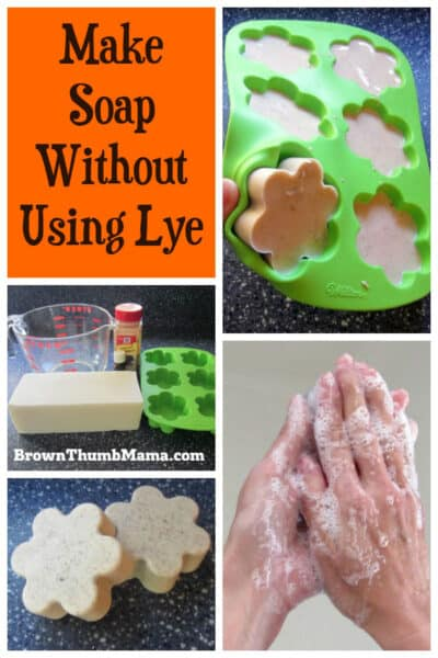 There's an answer for us scaredy-cat soapmakers who want to make soap without using lye! This method is easy and safe to do with kids around.