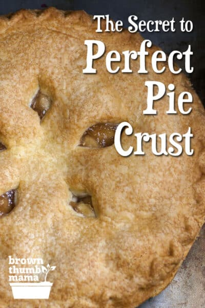 how to make pie crust brown
