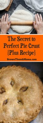 You won't believe the secret ingredient that makes a perfect pie crust. It's not frozen butter or special flour. You'll be shocked--don't tell Grandma!