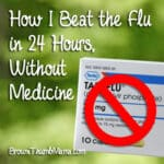 How I Beat The Flu in 24 Hours, Without Medicine