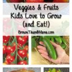 Vegetables and Fruits Kids Love to Grow (and Eat!)