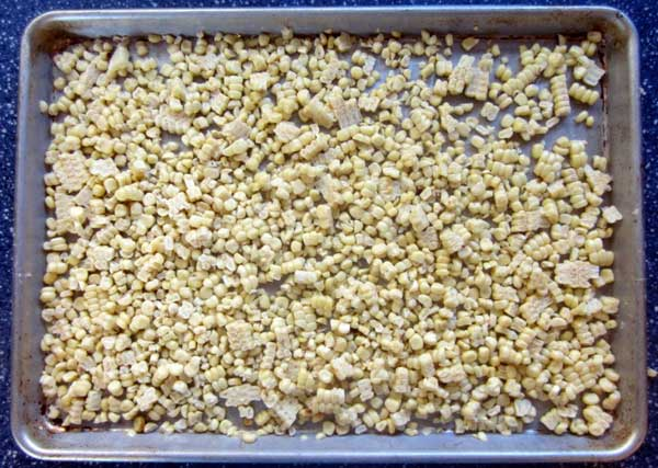 Freeze leftover corn: BrownThumbMama.com
