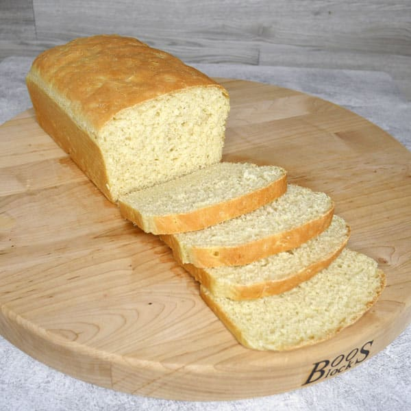sliced loaf of English Muffin Bread