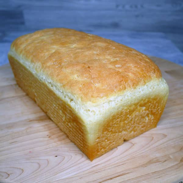 loaf of English muffin bread
