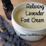 Relaxing Lavender Foot Cream