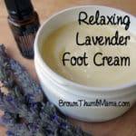 Relaxing Lavender Foot Cream
