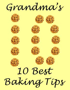 Grandma's 10 Best Baking Tips