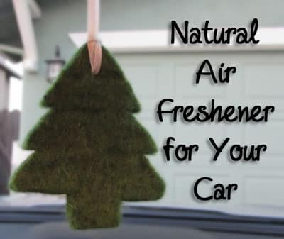 Natural Car Air Freshener: BrownThumbMama.com