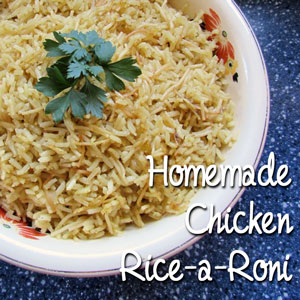 Homemade Chicken Rice-a-Roni: BrownThumbMama.com