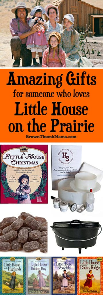 Perfect gifts for anyone who loves the Little House on the Prairie books and TV show.