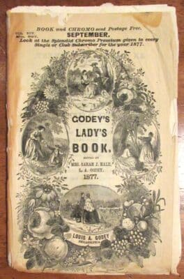 Godey's Lady's Book 1877