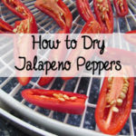 How to Dry Jalapeno Peppers