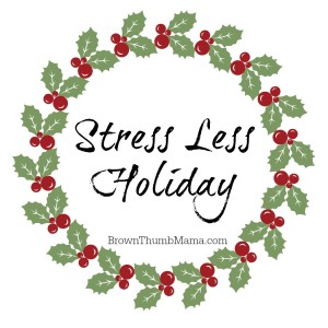 Ways to Stress LESS this Holiday