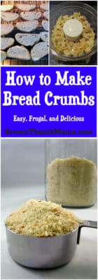 Don't buy stale bread crumbs from the grocery store! Make breadcrumbs at home--it's easy and you can use them for fried chicken, in meatballs, and so much more.