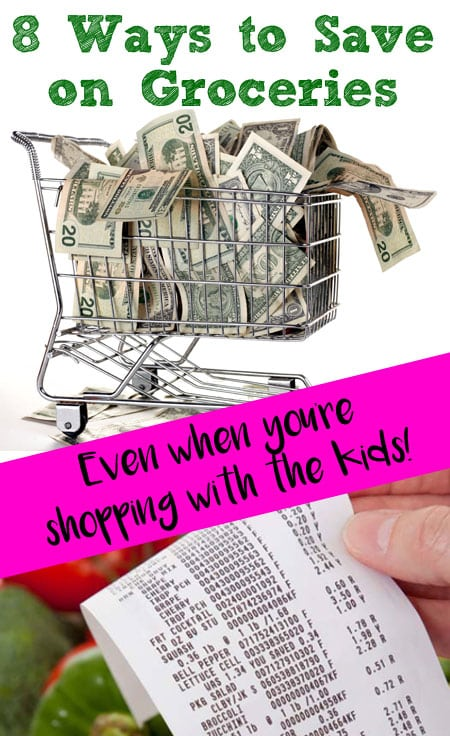 8 ways to save at the grocery store: BrownThumbMama.com