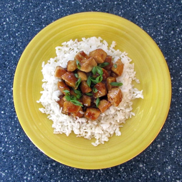 Honey Garlic Chicken: BrownThumbMama.com