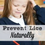 Natural Lice Prevention Spray