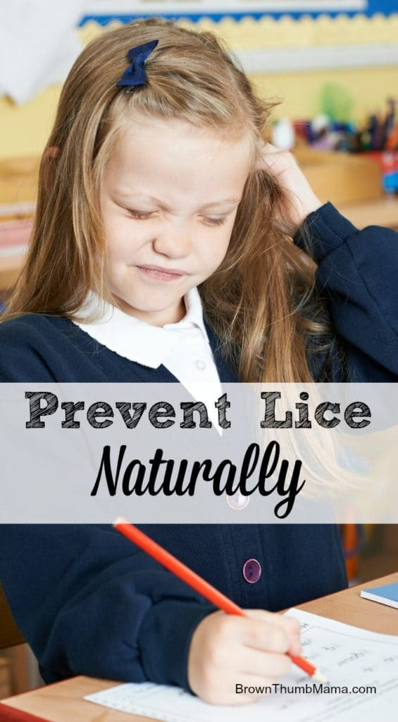 Prevent Lice Naturally: BrownThumbMama.com