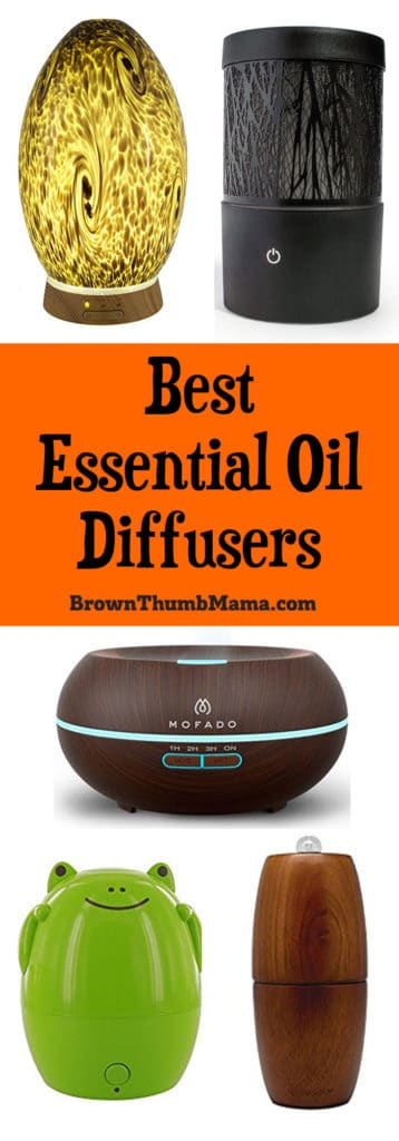 The best kinds of essential oil aromatherapy diffusers, which diffusers to avoid, and how they work. Fun diffusers for kids and elegant, formal ones too.