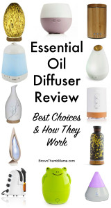 Essential Oil Aromatherapy Diffuser Comparison: Best Choices & How They Work: BrownThumbMama.com