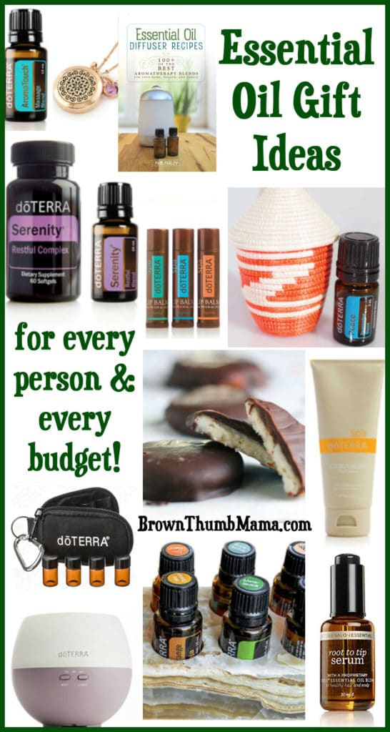doTERRA essential oil Christmas gift ideas for everyone on your list: BrownThumbMama.com