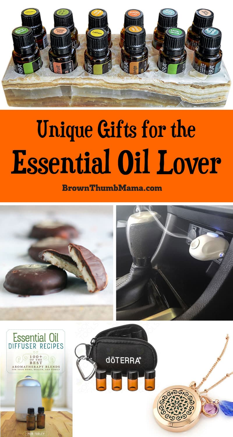 Wonderful essential oil gifts for everyone on your shopping list.