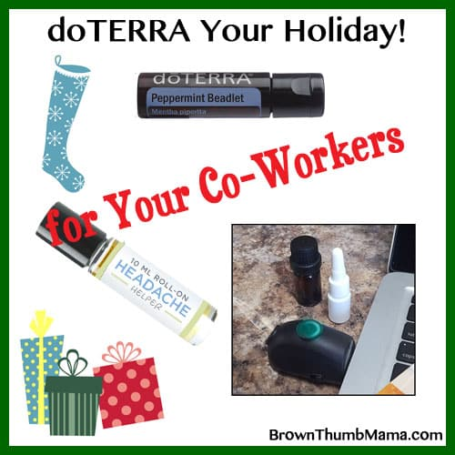 Essential Oil Gift Ideas For Your Co-Workers: BrownThumbMama.com