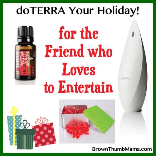 Essential Oil Gifts For The Friend Who Loves to Entertain: BrownThumbMama.com