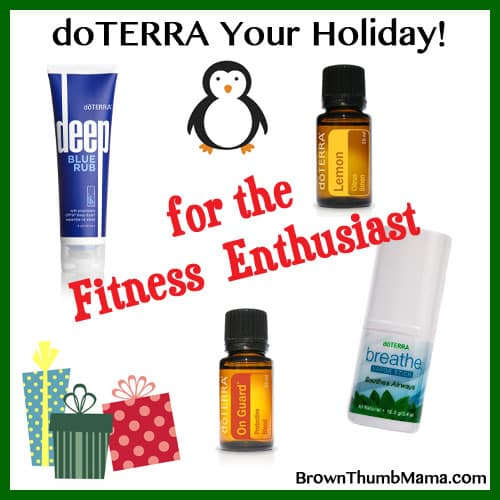 Essential Oil Gift Ideas for the Fitness Nut: BrownThumbMama.com
