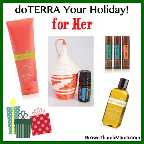 Essential Oil Gifts for Ladies: BrownThumbMama.com