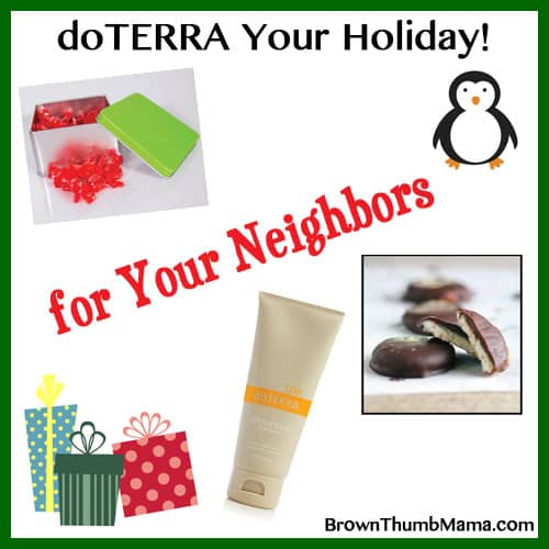Essential oil gift ideas for your neighbors: BrownThumbMama.com