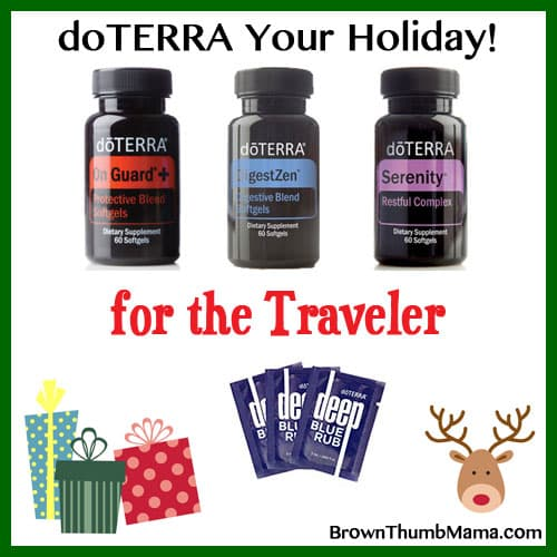 Essential oil gifts for holiday travel, business travel: BrownThumbMama.com