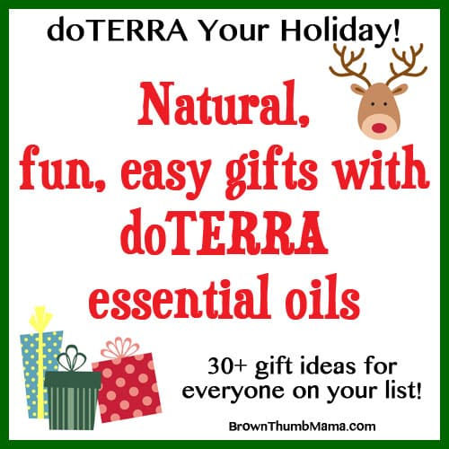 Essential Oil Gift Ideas Holiday doTERRA