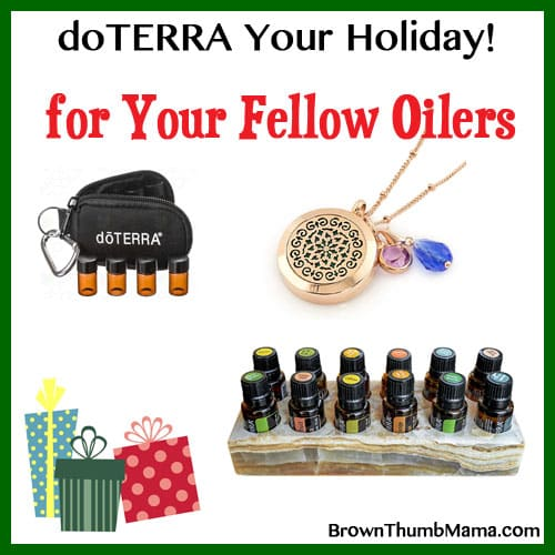 Gift ideas for essential oil Lovers: BrownThumbMama.com