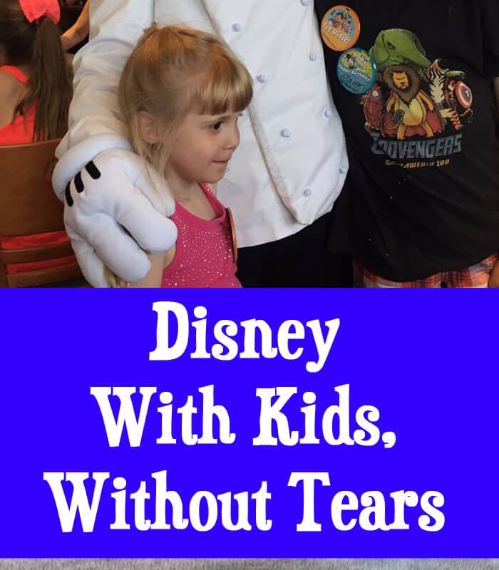 Disney With Kids, Without Tears
