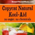 Copycat Natural Kool-Aid