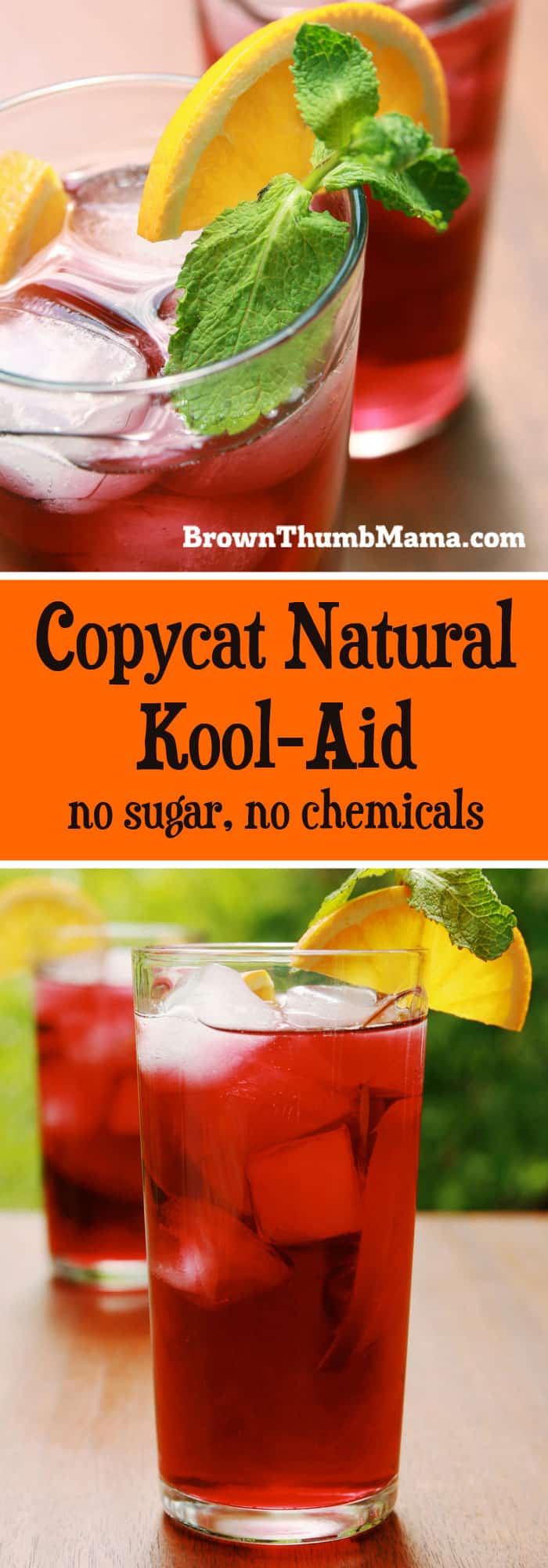 My kids love this copycat natural Kool-Aid! It's easy to make in several